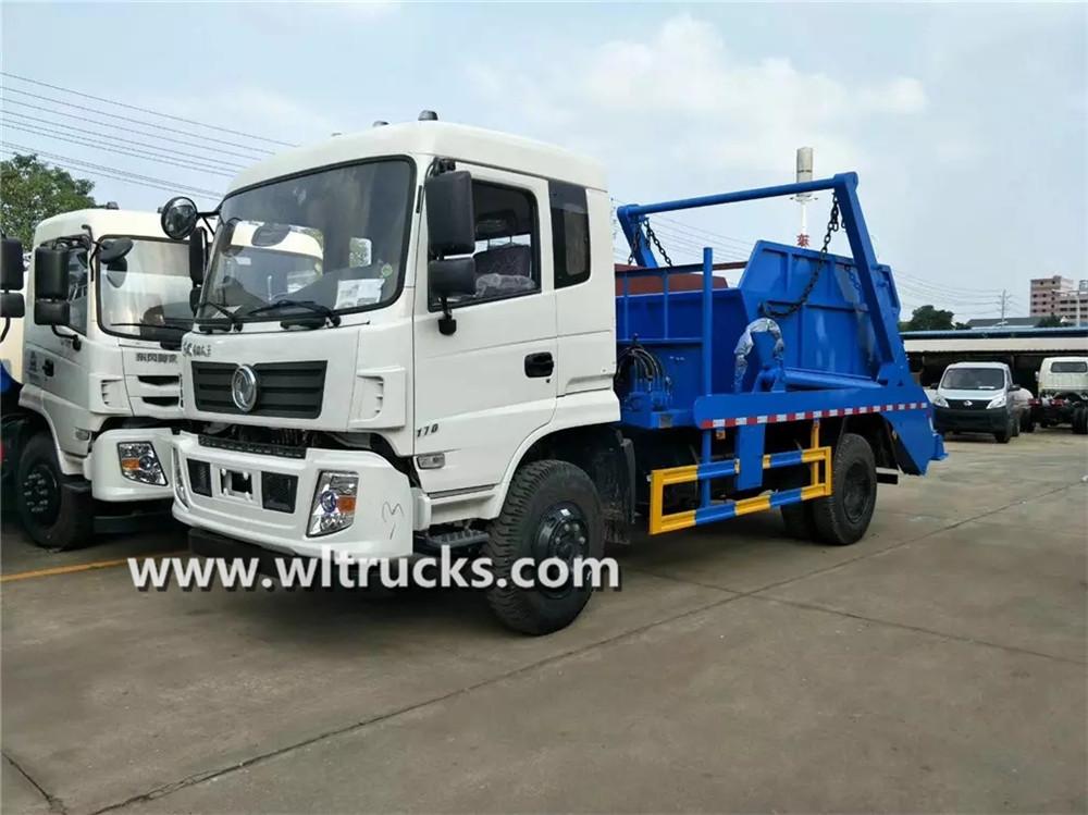 Dongfeng 10 ton Swing arm garbage truck