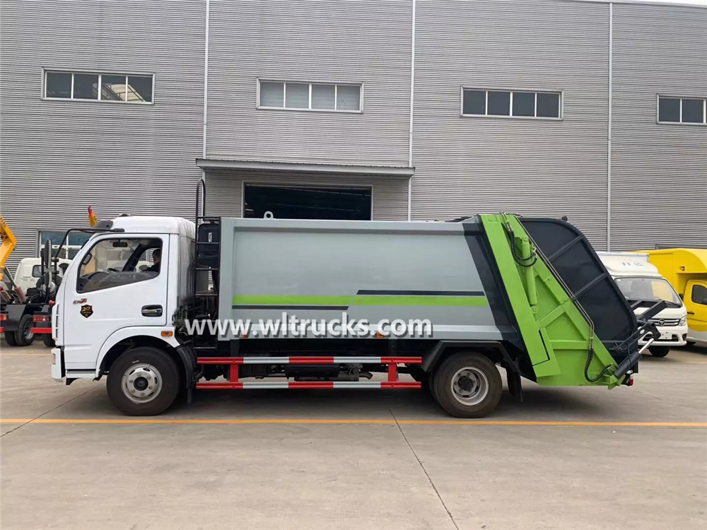 Dongfeng Dolica 8cbm garbage compactor truck