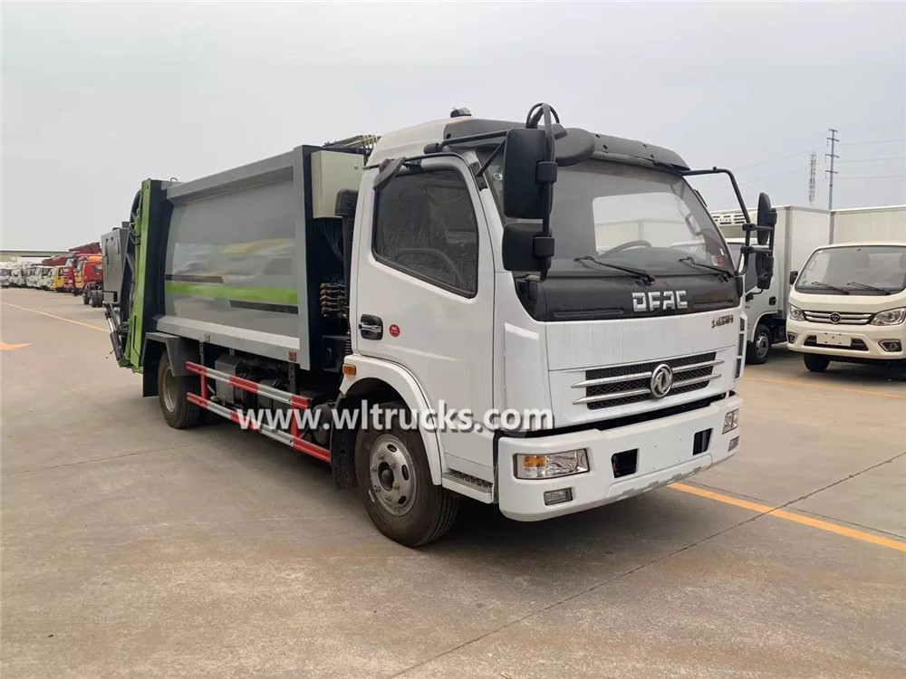 Dongfeng Dolica 8m3 garbage compactor truck