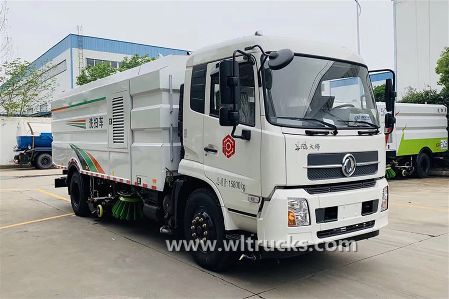 Dongfeng KinRun road washing and sweeping truck
