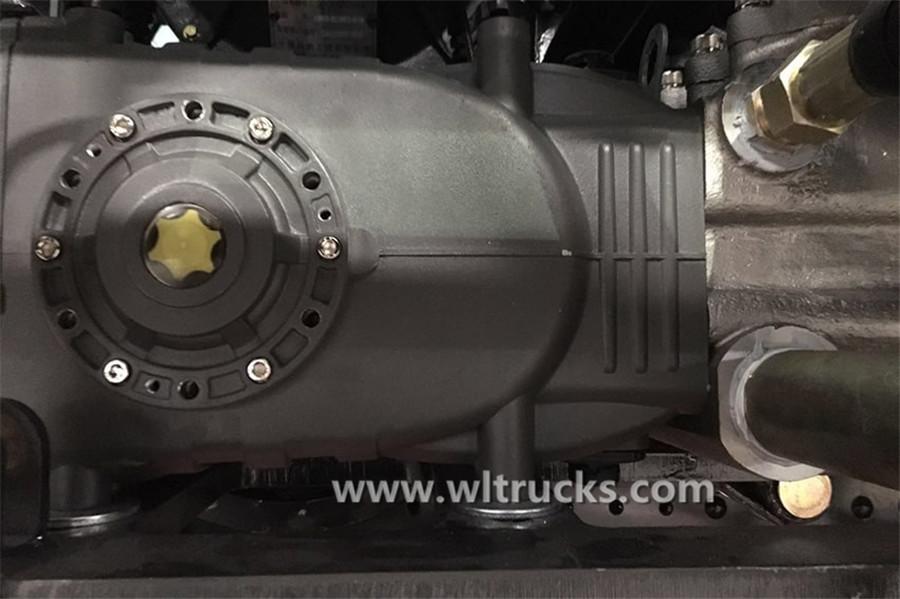 Dongfeng KinRun washing and sweeping truck High-pressure pump