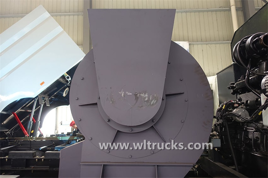 Dongfeng KinRun washing and sweeping truck Wind machine