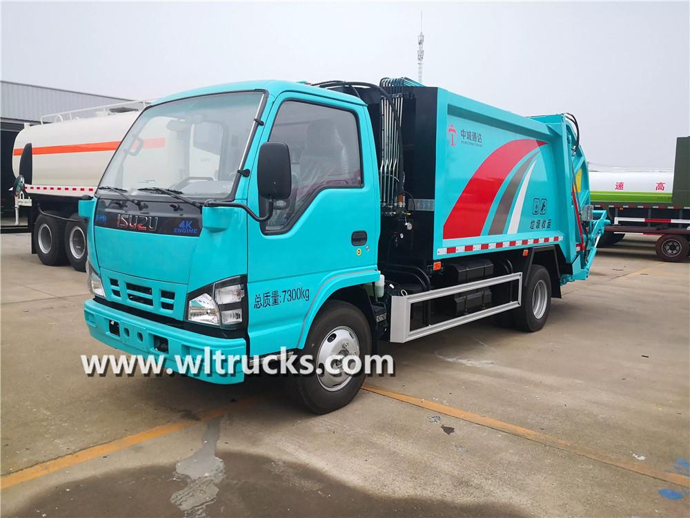 ISUZU 6m3 Garbage compactor truck