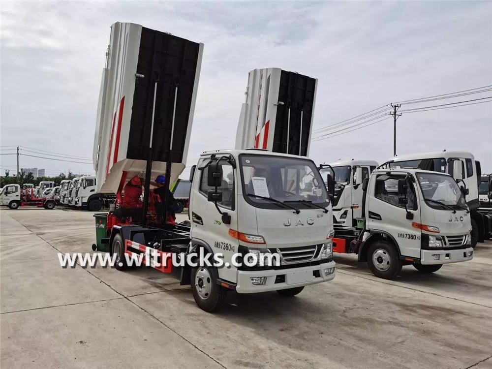 JAC 5 ton dump garbage truck