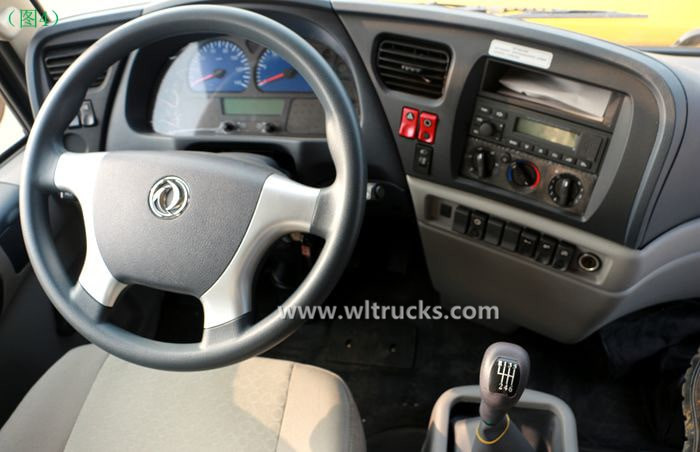 Dongfeng KinRun 10 ton Fuel oil tanker truck Cab interior picture