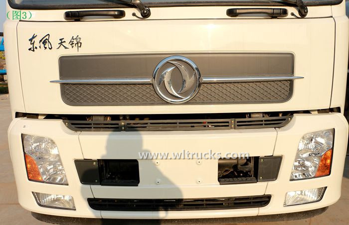 Dongfeng KinRun 10 ton Fuel oil tanker truck Headlight pictures