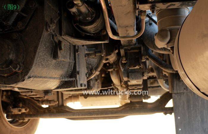 Dongfeng KinRun 10 ton Fuel oil tanker truck front axle picture