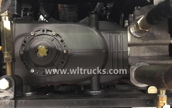 Road sweeper truck High pressure plunger pump