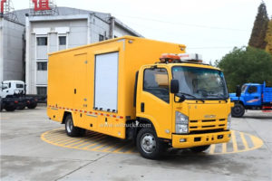 6 wheel Isuzu mobile emergency power truck