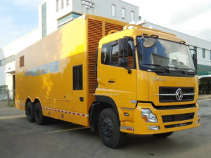 6x4 Dongfeng Kinland mobile emergency power supply vehicle