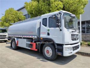 Euro VI Dongfeng 15000L fuel tank truck