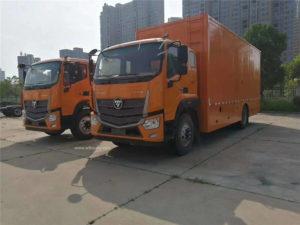 Foton emergency power bank vehicle