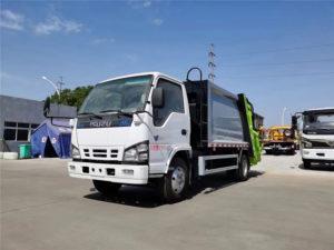 ISUZU NKR 8cbm waste compactor truck