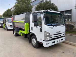 Isuzu Npr 7m3 Kitchen garbage collection truck