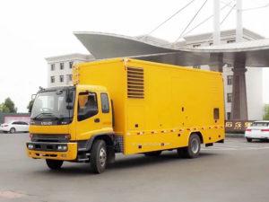 Isuzu ftr emergency electric power supply vehicle