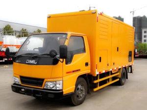 JMC Mobile Emergency Power Supply Vehicle