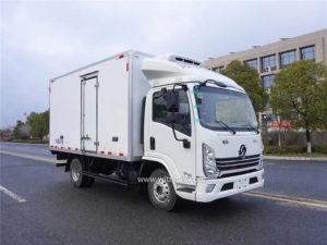 Shacman Delong freezer truck
