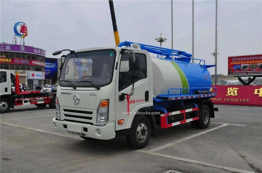 Dayun 6000 liters septic tanker truck