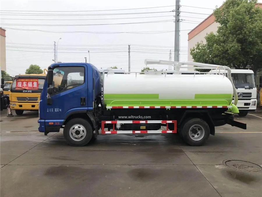 KAMA 6000 liters vacuum Fecal Suction Truck