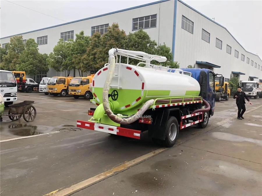 KAMA 6m3 toilet liquid tanker vehicle truck