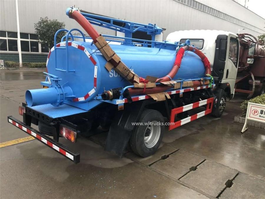 Sinotruk HOWO 5cbm fecal suction truck