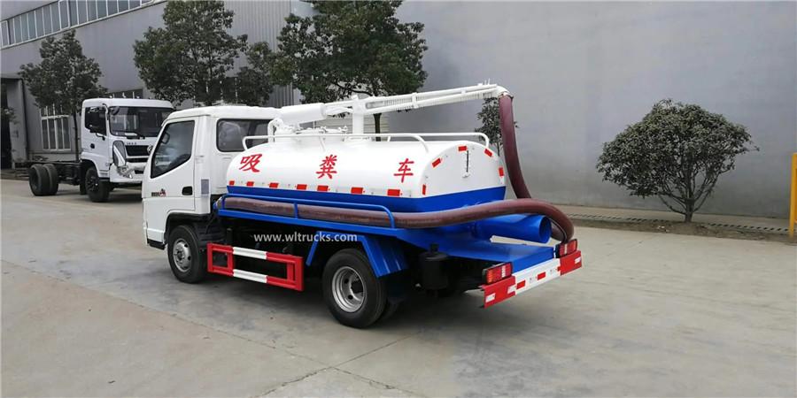 T-KING 3m3 small toilet vacuum truck