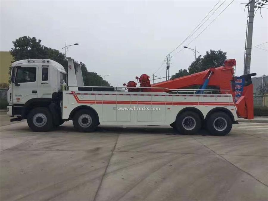 12 tire JAC 30-40 ton wrecker truck