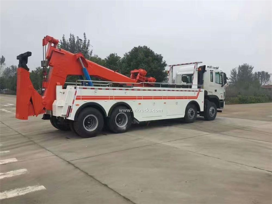 12 tyre JAC 30-40 ton wrecker tow truck