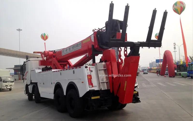 12 tyre North Benz 60 ton rotator wrecker towing truck
