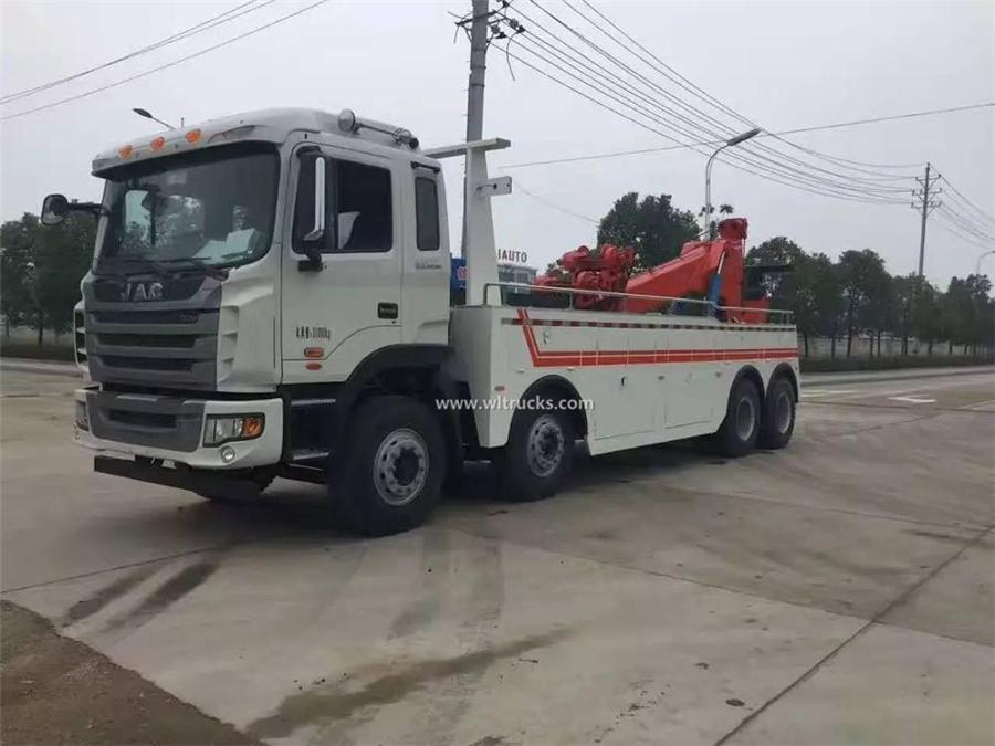 12 wheel JAC 40 ton tow truck