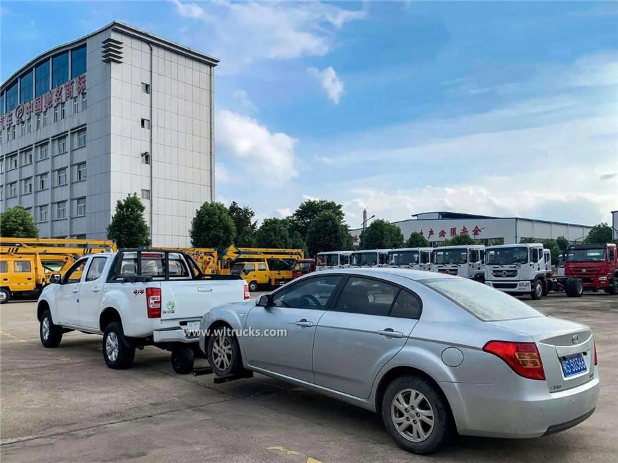 4WD JMC pickup wrecker tow truck