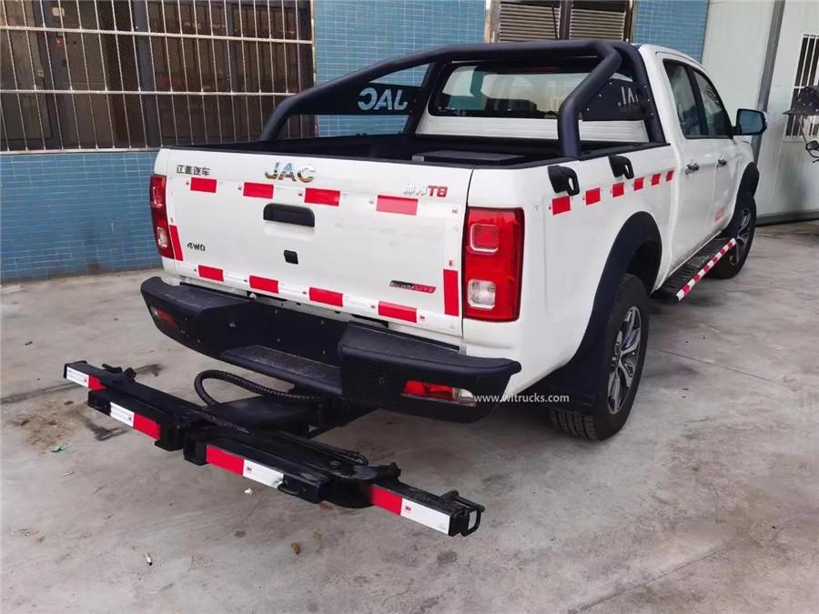 4x4 JAC pickup wrecker tow car