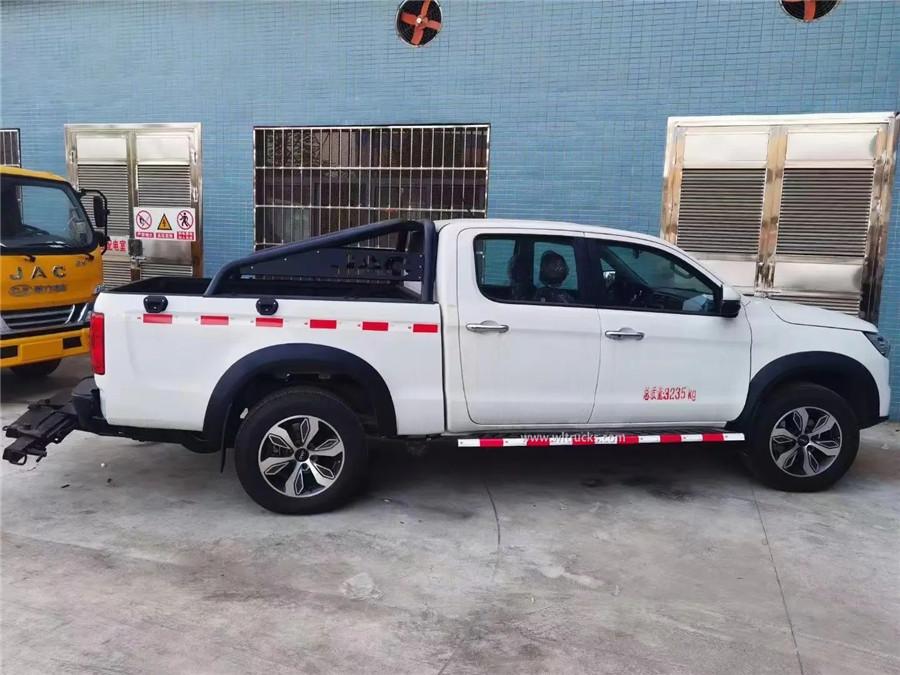 4x4 JAC pickup wrecker tow truck