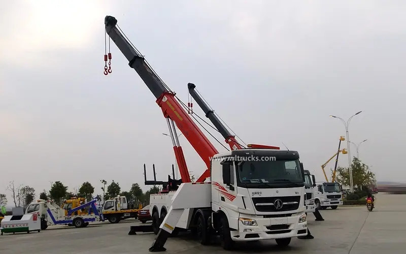 8x4 North Benz 60 ton rotator recovery truck