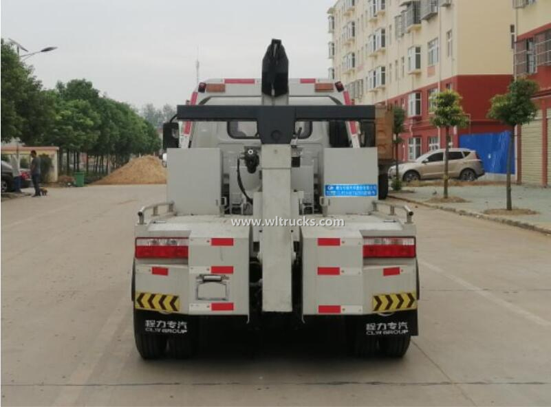 China JAC 3t small wrecker tow truck
