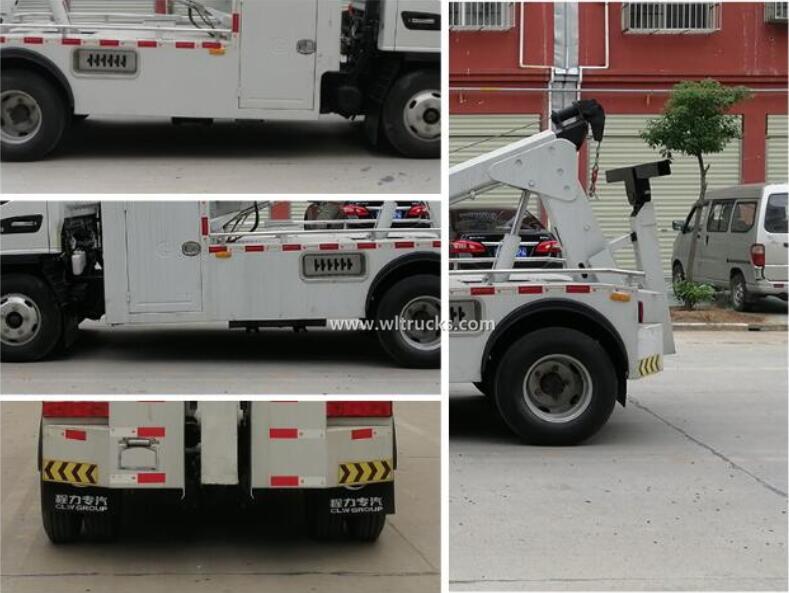 JAC 3mt mini wrecker towing truck