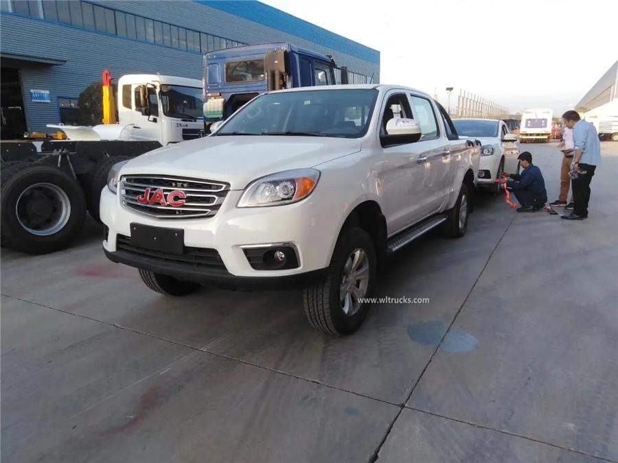 JAC mini pickup tow truck