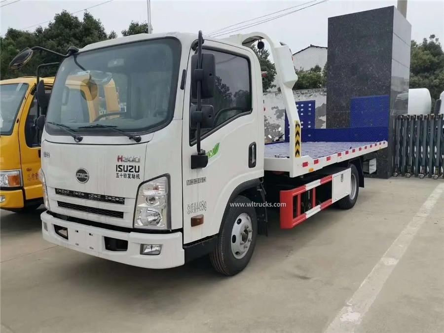 Japan Isuzu 3t road recovery wrecker truck