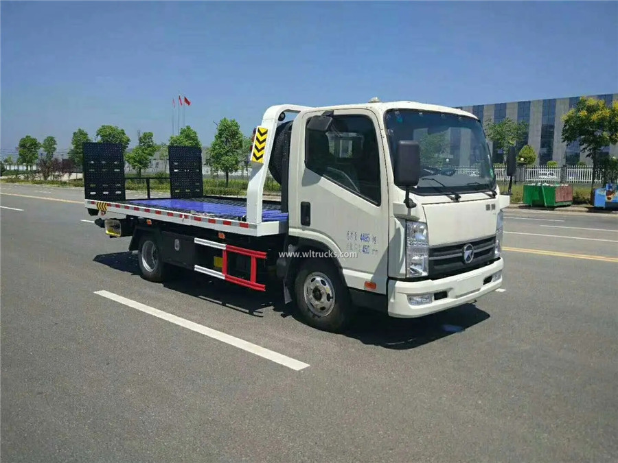 KAMA 3 ton slide tray tow truck