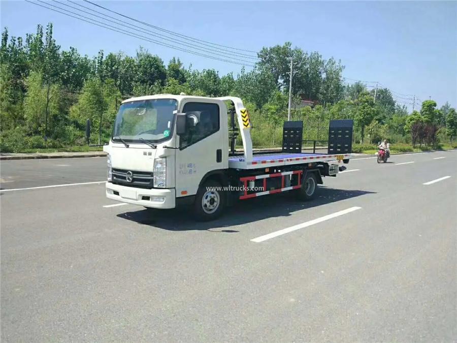 KAMA 3t flatbed slide tray wrecker tow truck