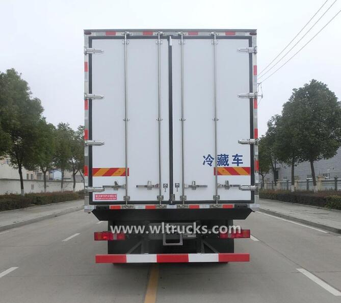 12 wheel Sino Hohan refrigerated 40 feet box truck