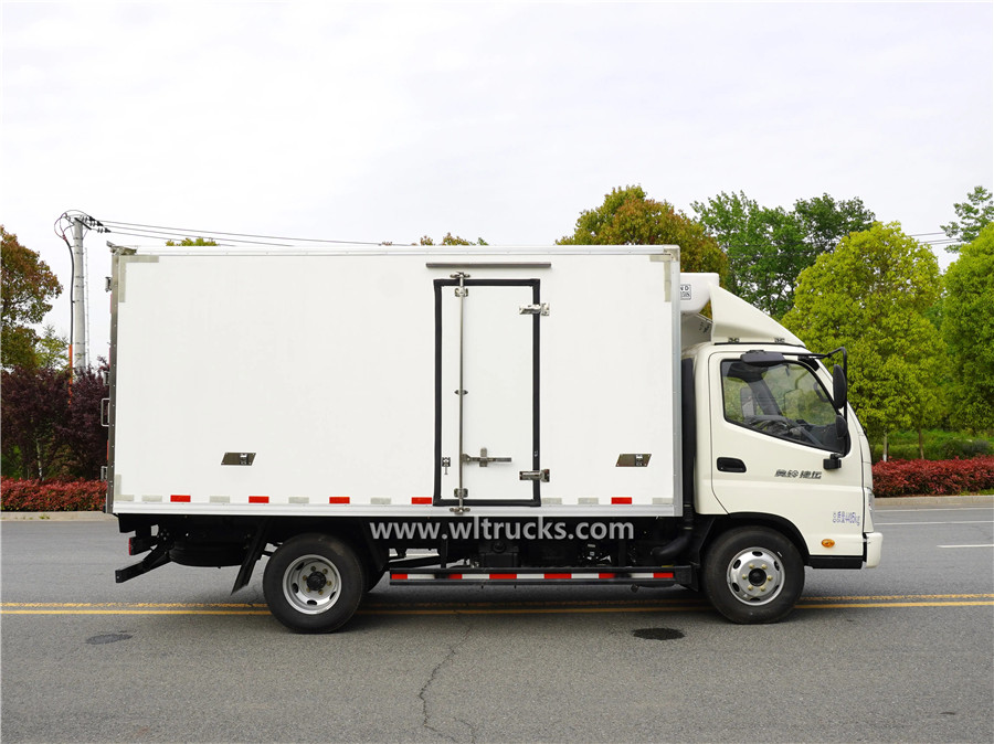 Foton Ollin 6t reefer container box truck