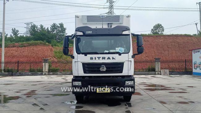 Sinotruk SITRAK 7.6m refrigerator container truck