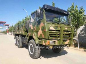 6x6 Shacman off-road cargo truck