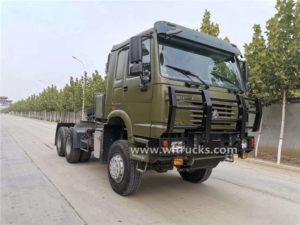 6x6 Sinotruk Howo offroad tractor trucks
