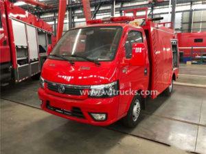 DFAC 1 ton mini water tank fire engine truck