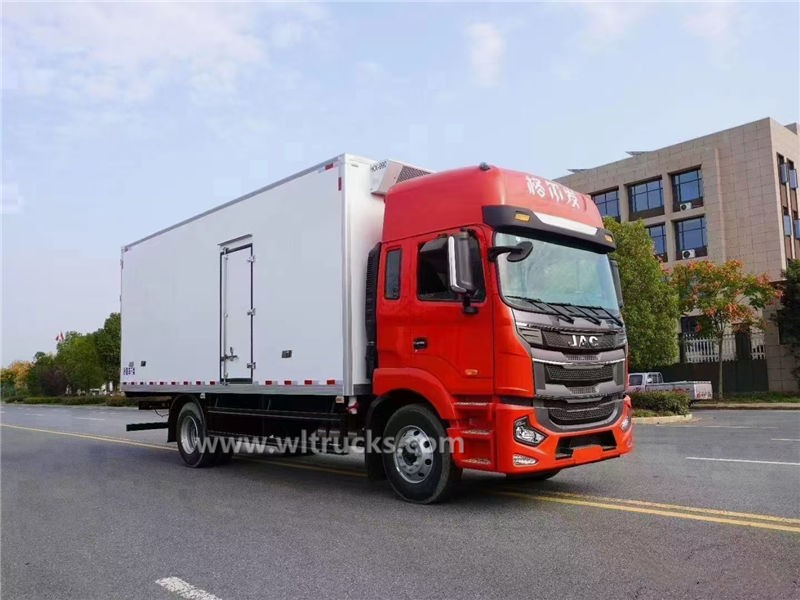 JAC 6.8 meters freezer and refrigerator truck