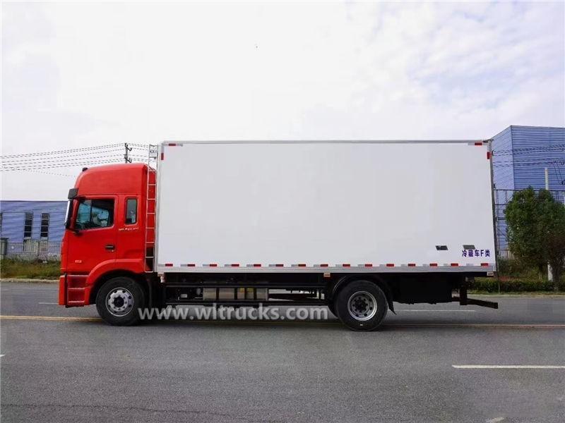 JAC refrigeration trucks for vegetables